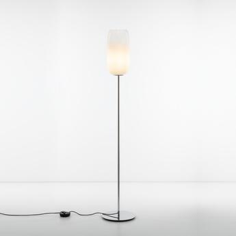 Lampadaire gople floor blanc l21cm h170cm artemide normal