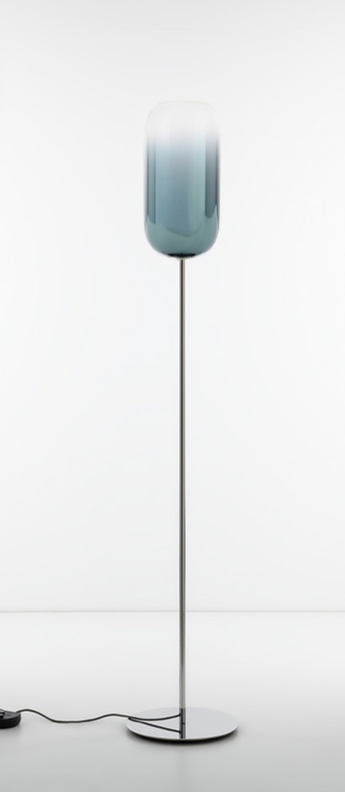 Lampadaire gople floor bleu l21cm h170cm artemide normal