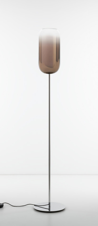 Lampadaire gople floor bronze l21cm h170cm artemide normal
