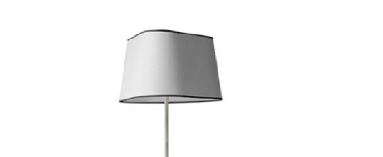 Lampadaire grand nuage blanc fil noir h162cm designheure normal