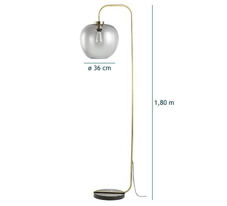 Grape  lampadaire floor light  bolia 20 107 03 8305311  design signed 39296 product