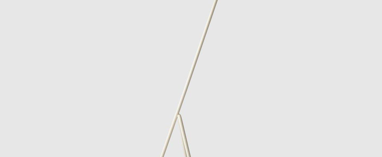 Lampadaire grasshopper blanc l43 5cm h125cm gubi normal