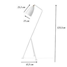 Grasshopper greta grossman lampadaire floor light  gubi 00501106  design signed 61530 thumb