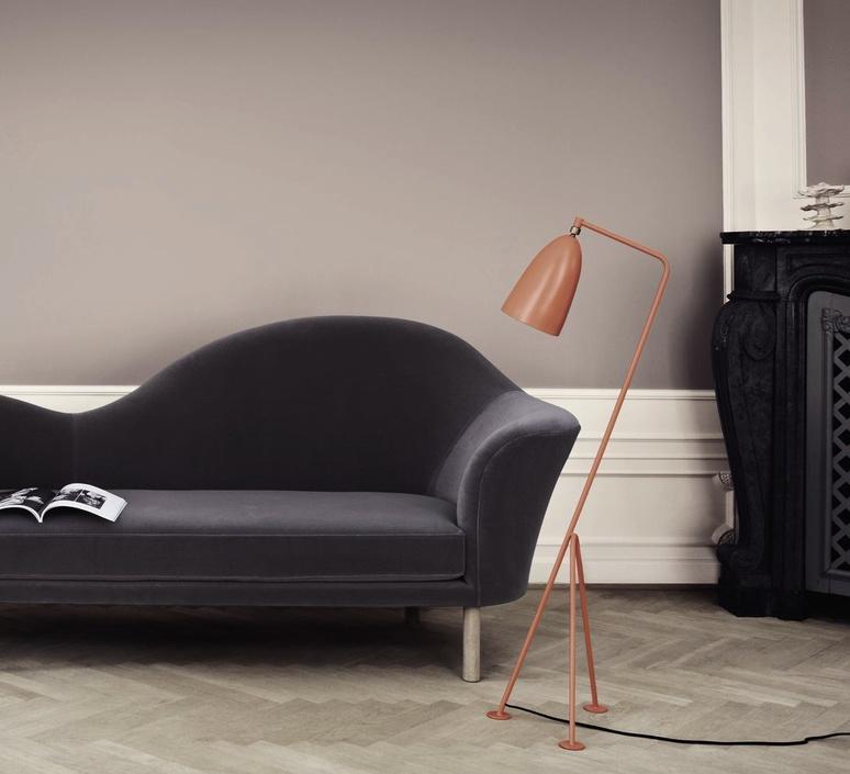 Grasshopper greta grossman lampadaire floor light  gubi 005 01103  design signed 30105 product
