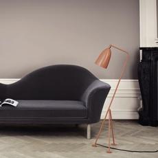 Grasshopper greta grossman lampadaire floor light  gubi 005 01103  design signed 30105 thumb