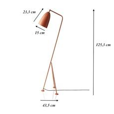 Grasshopper greta grossman lampadaire floor light  gubi 005 01103  design signed 30108 thumb