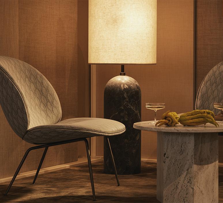 Gravity xl space copenhagen lampadaire floor light  gubi 10012263  design signed nedgis 119233 product