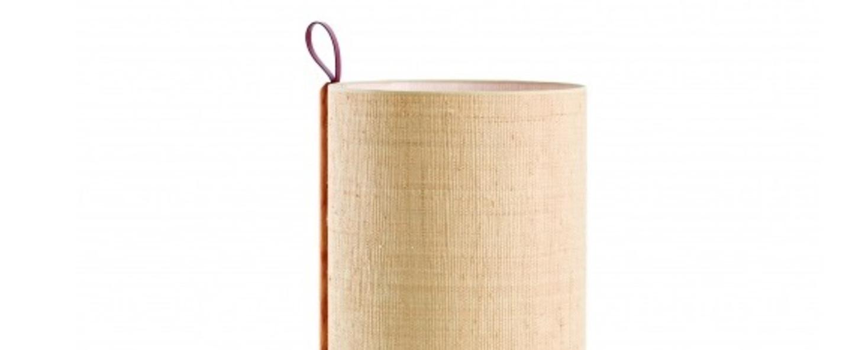 Lampadaire greta chene fibre o40cm h90cm carpyen normal