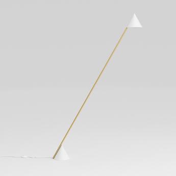 Lampadaire hat blanc l87 7cm h14 05cm atelier areti normal