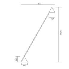 Hat gwendolyn et guillane kerschbaumer lampadaire floor light  atelier areti 444ol f01 me01   design signed nedgis 73444 thumb