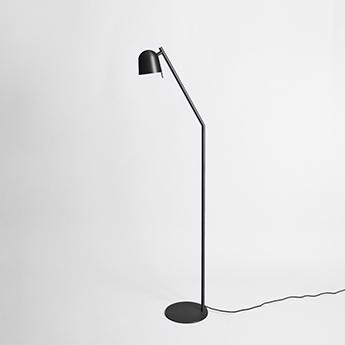 Lampadaire ho floor noir l25cm h153cm eno studio normal