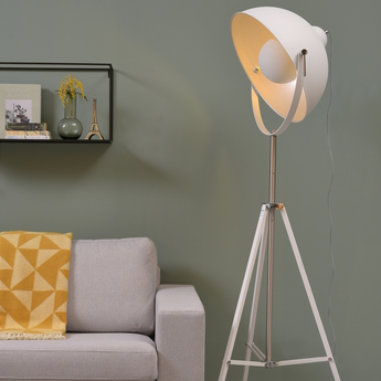 Lampadaire hollywood blanc o68cm h183cm it s about romi normal