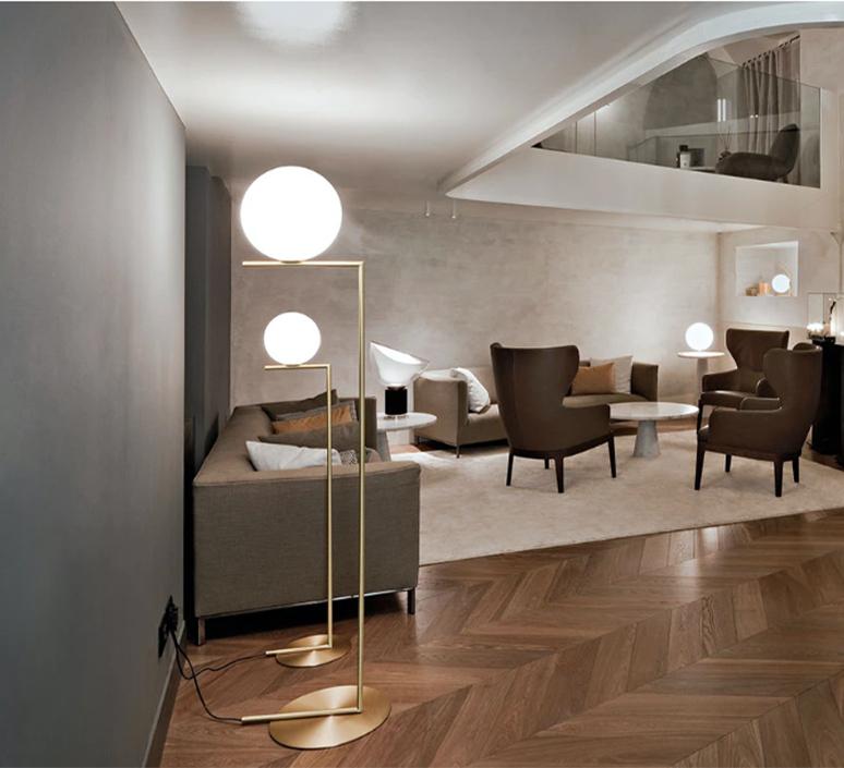Ic f1 michael anastassiades lampadaire floor light  flos f3173059   design signed 97326 product