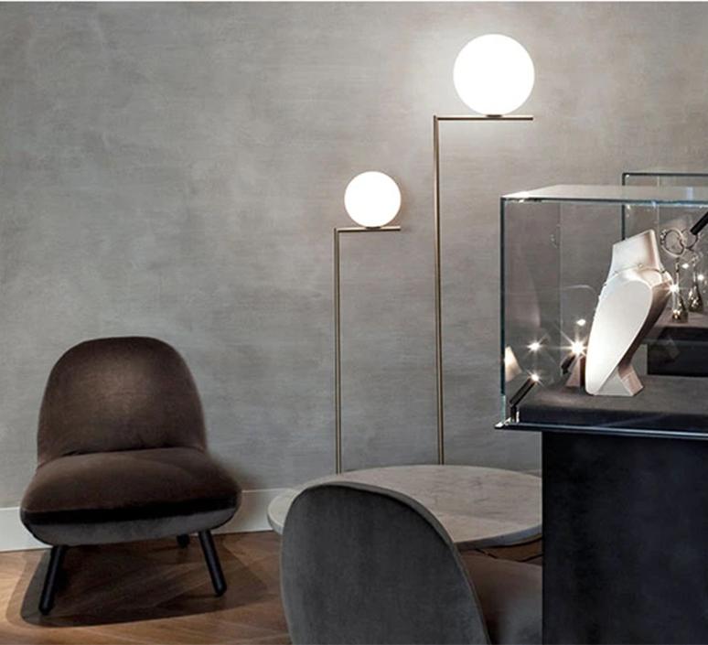 Ic f1 michael anastassiades lampadaire floor light  flos f3173059   design signed 97327 product