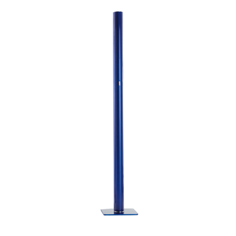 Lampadaire ilio bleu led 2700k 3332lm dimmable o30cm h175cm artemide normal