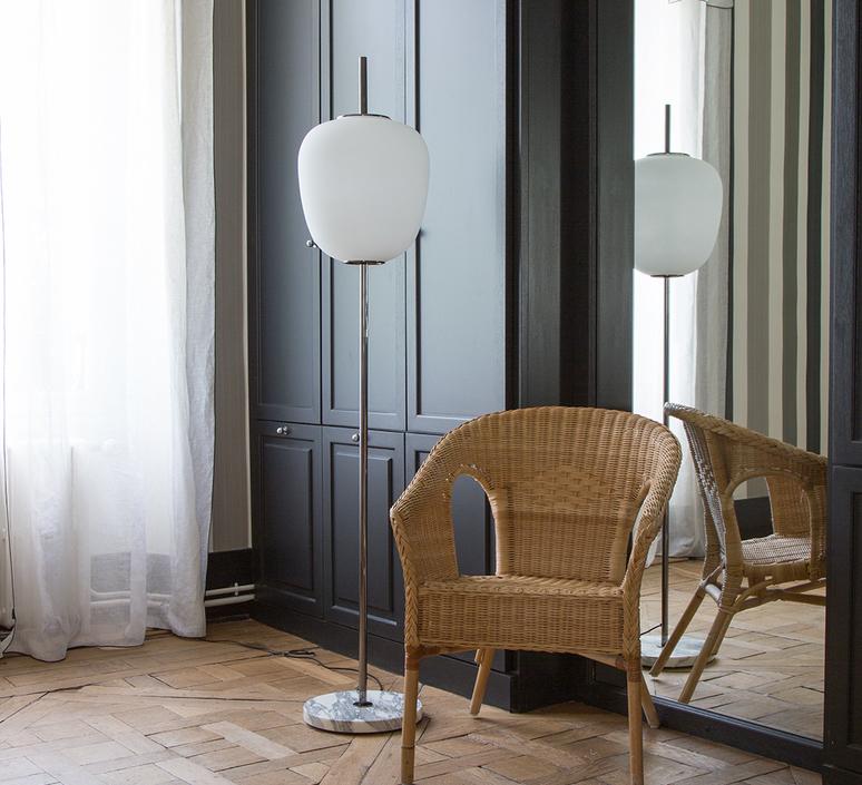 J14 joseph andre motte lampadaire floor light  disderot j14 ch  design signed nedgis 83001 product