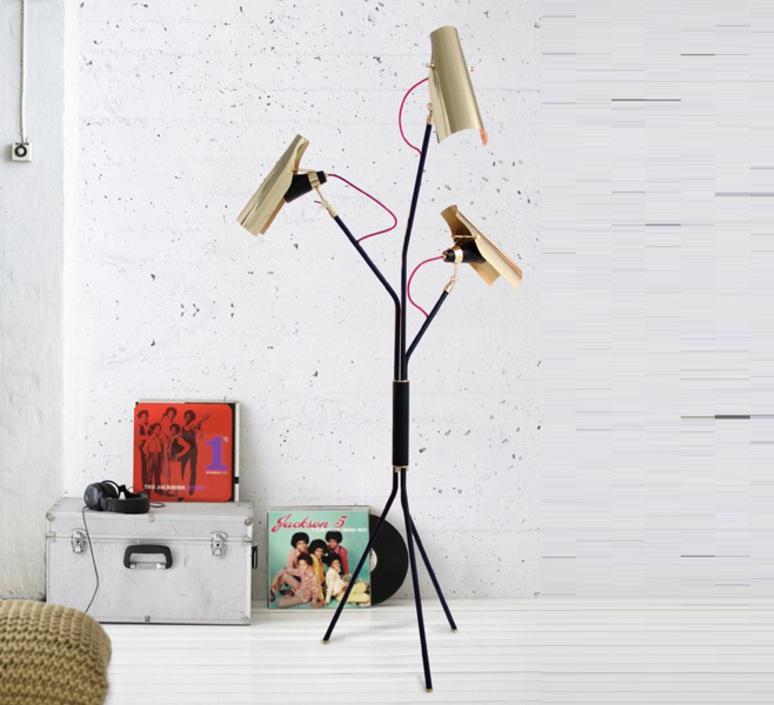 Jackson studio delightfull delightfull floor jackson black gold luminaire lighting design signed 25651 product