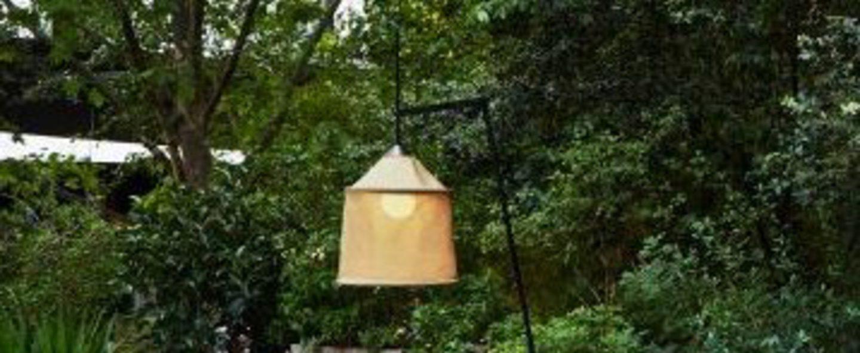Lampadaire jaima beige led o43cm h207cm marset normal