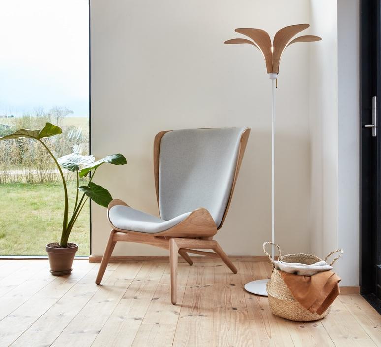Jazz oak ingemar jonsson lampadaire floor light  umage 2216 4035  design signed nedgis 76642 product