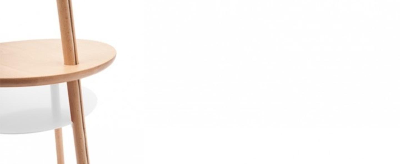 Lampadaire josette blanc h140cm harto normal