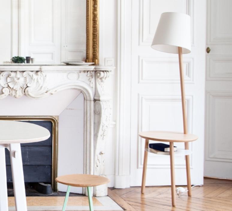 Josette pauline gilan et pierre francois dubois harto josette naturelle blanc luminaire lighting design signed 27749 product