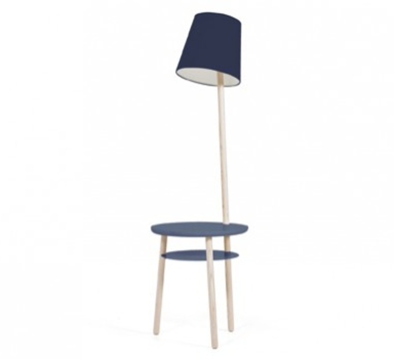 Josette pauline gilan et pierre francois dubois harto josette peinte bleumarine luminaire lighting design signed 27770 product