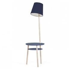 Josette pauline gilan et pierre francois dubois harto josette peinte bleumarine luminaire lighting design signed 27770 thumb