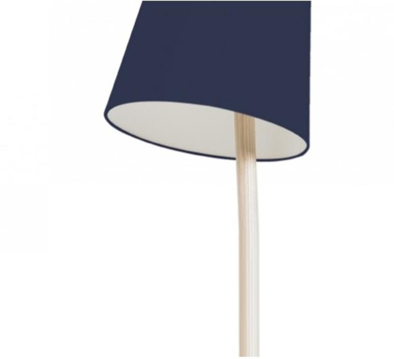 Josette pauline gilan et pierre francois dubois harto josette peinte bleumarine luminaire lighting design signed 27771 product