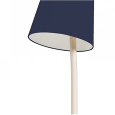 Josette pauline gilan et pierre francois dubois harto josette peinte bleumarine luminaire lighting design signed 27771 thumb