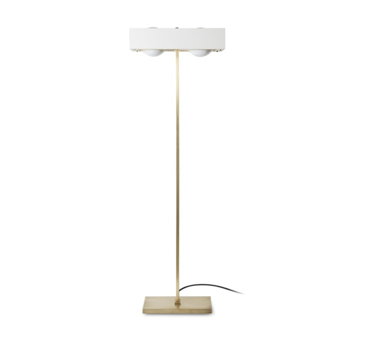 Kernel robbie llewellyn adam yeats lampadaire floor light  bert frank kernel floor lamp white  design signed 35978 product