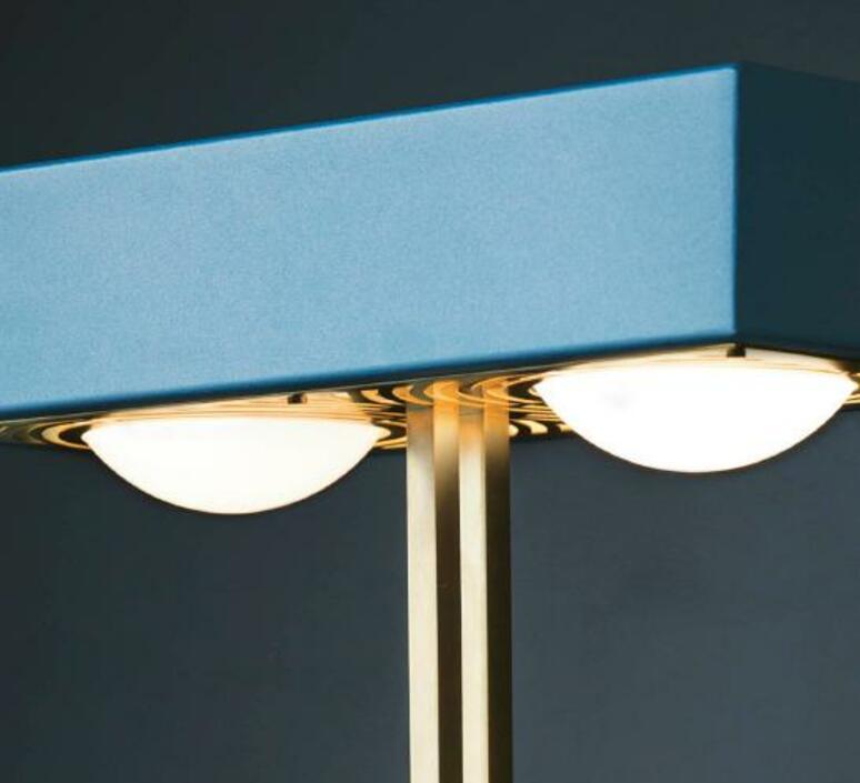 Kernel robbie llewellyn adam yeats lampadaire floor light  bert frank kernel floor lamp blue  design signed 124775 product