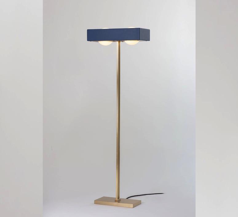 Kernel robbie llewellyn adam yeats lampadaire floor light  bert frank kernel floor lamp blue  design signed 124776 product