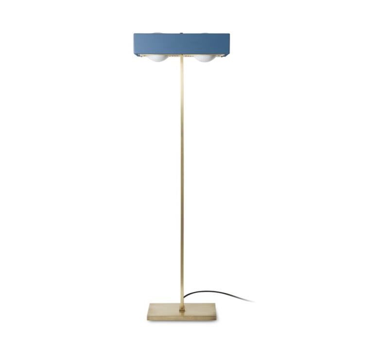 Kernel robbie llewellyn adam yeats lampadaire floor light  bert frank kernel floor lamp blue  design signed 35980 product