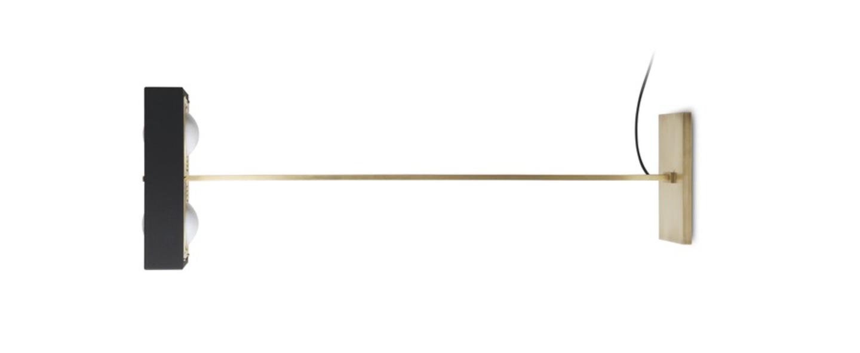 Lampadaire kernel noir led l40cm h130cm bert frank normal