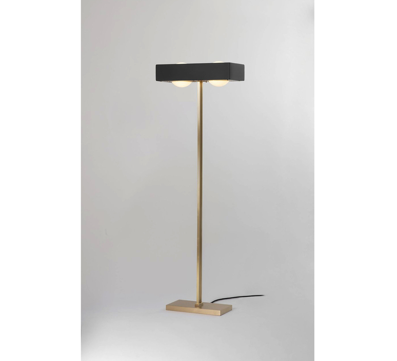 Kernel robbie llewellyn adam yeats lampadaire floor light  bert frank kernel floor lamp black  design signed 124766 product