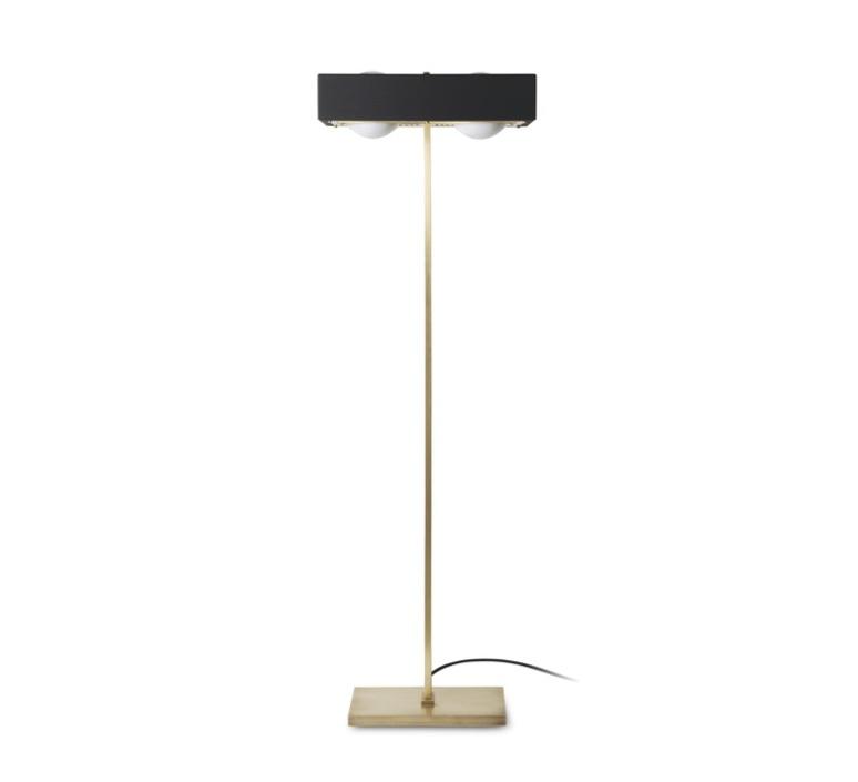 Kernel robbie llewellyn adam yeats lampadaire floor light  bert frank kernel floor lamp black  design signed 35975 product