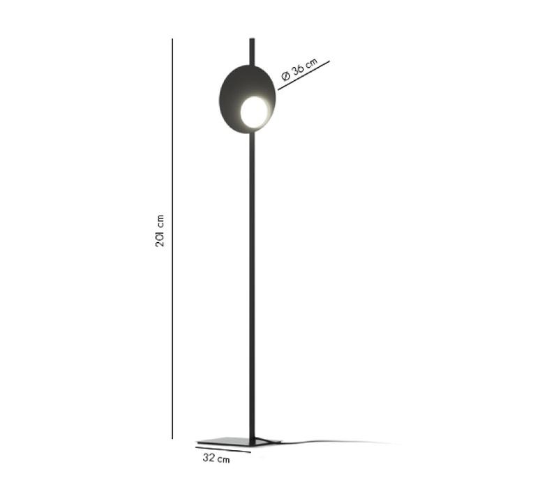 Kwic serge et robert cornelissen lampadaire floor light  axolight spkwic36brxxled  design signed nedgis 109501 product