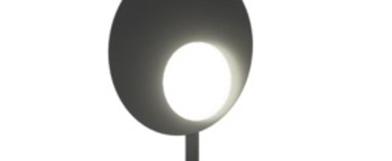 Lampadaire kwic noir led 2700k 2151lm o32cm h201cm axo light normal