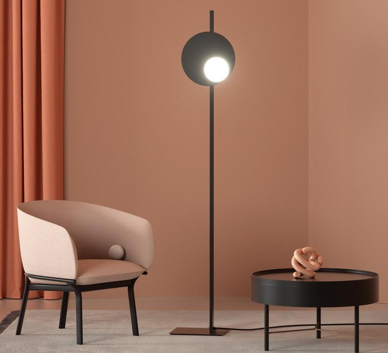 Kwic serge et robert cornelissen lampadaire floor light  axolight spkwic36nexxled  design signed nedgis 109495 product