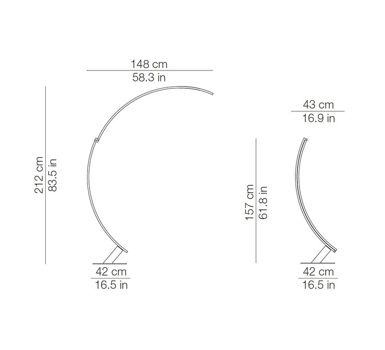 Kyudo hansandfranz design lampadaire floor light  kundalini k048133bieu  design signed 60047 product