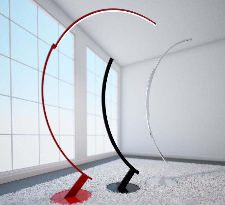 Kyudo hansandfranz design lampadaire floor light  kundalini k048133neeu  design signed 49271 product