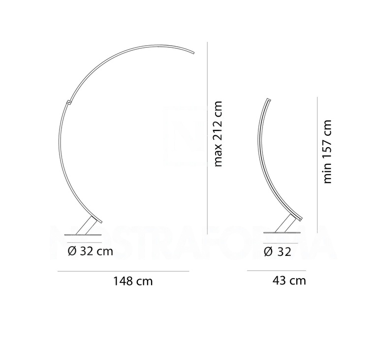 Kyudo hansandfranz design lampadaire floor light  kundalini k048133neeu  design signed 49273 product