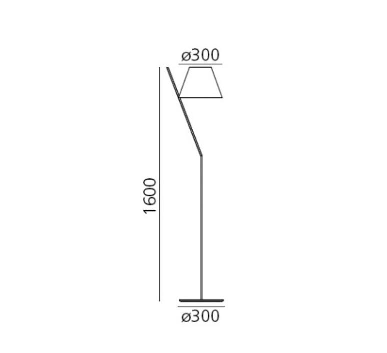 La petite floor quaglio simonelli lampadaire floor light  artemide 1753020a  design signed nedgis 117329 product