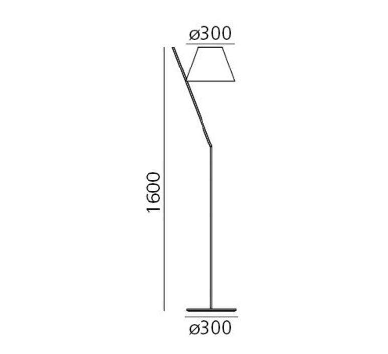 La petite floor quaglio simonelli lampadaire floor light  artemide 1753030a  design signed nedgis 67452 product