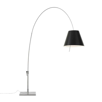 Lampadaire lady costanza d13e d noir led l203cm h250cm luceplan normal