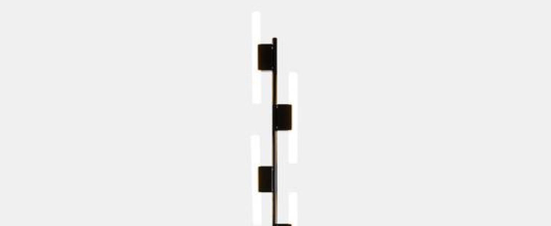 Lampadaire lampadaire 5 tubes noir noir lcm h165cm atelier areti normal