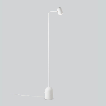 Lampadaire lampadaire buddy blanc l12 2cm h130cm northern normal