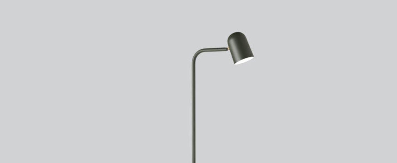 Lampadaire lampadaire buddy vert l12 2cm h130cm northern normal