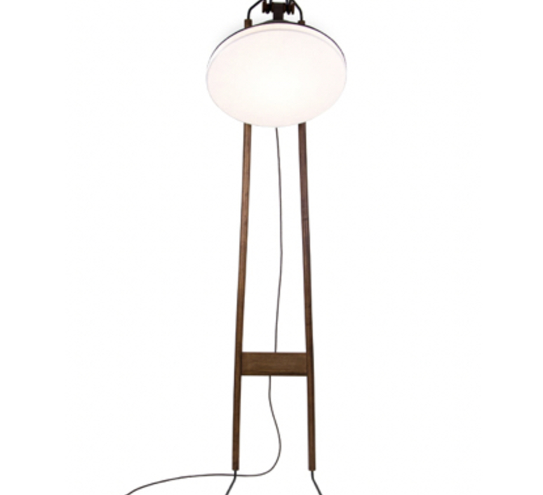 Lampadaire natacha kopec et gary berche lampadaire floor light  kngb kngb floor noyer massif  design signed nedgis 78165 product