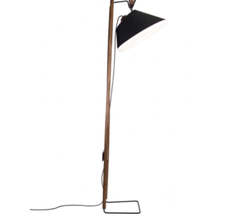 Lampadaire natacha kopec et gary berche lampadaire floor light  kngb kngb floor noyer massif  design signed nedgis 78166 product